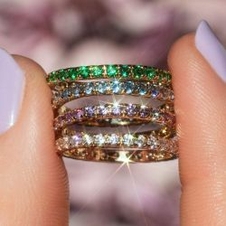 Infinity Band Ring