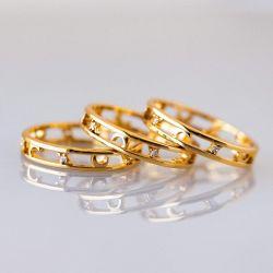 Sterling Silver Celestial Ring