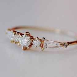 Sterling Silver Pleiades Supreme Ring