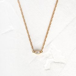 Marquise Centering Necklace