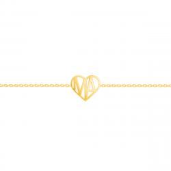 Liv Luv Heart Bracelet
