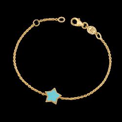 Enamel Star Bracelet