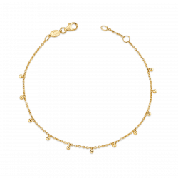 Dainty Ball Bracelet