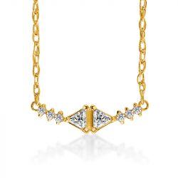 Triangle Deja Vu Necklace
