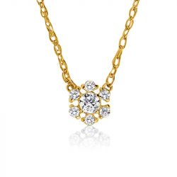 Snowflake Halo Necklace