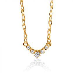 Petite Lace Edge Necklace