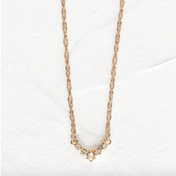 Petite Lace Edge Necklace