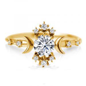 Sterling Silver Wandering Star Ring