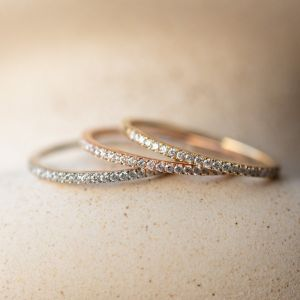 Simple Pave Eternity Band
