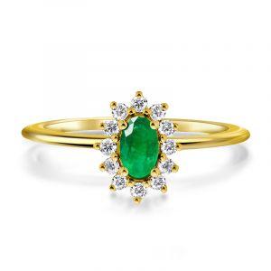 Exclusive Fleurette Opal Ring