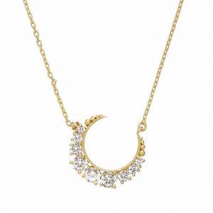Celestial Moon Necklace